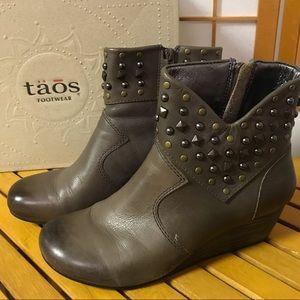 Taos Footwear Verge Boot Grey 8.5